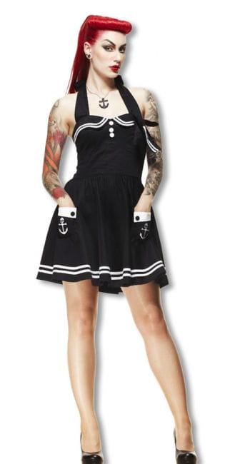 Sailor pinup petticoat dress