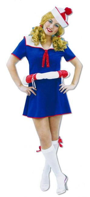 Sailor Girl Dress with Lifesaver L/XL 40-42