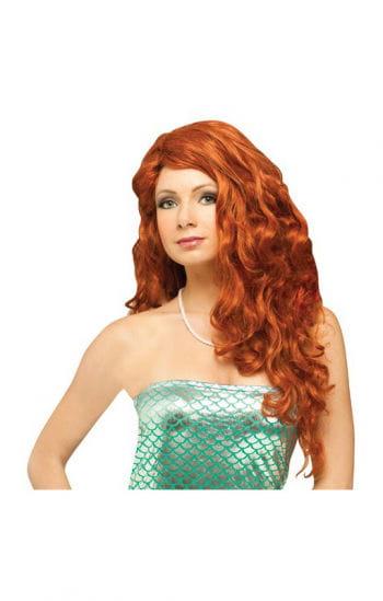 Mermaid Wig Copper Red