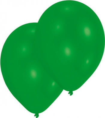 Metallic green balloons 50 St.