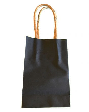 Mini gift bags black