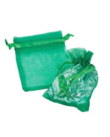 Mini Organza bag green 25 St.