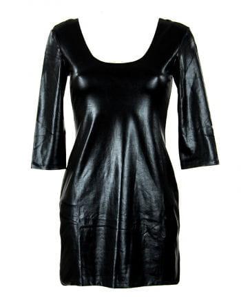 Mini dress in leather look Gr.XL