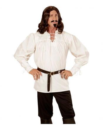 Medieval costume shirt cream