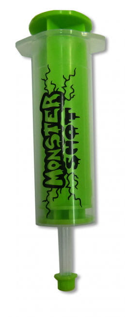 Monster Shot syringe