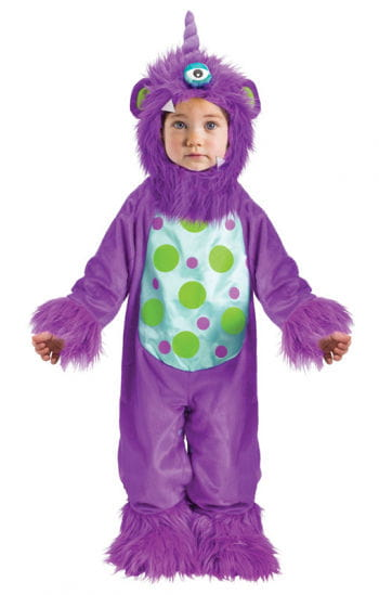 Purple Monster Baby Costume