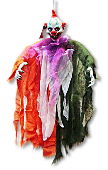 Monster Clown Hanging Prop
