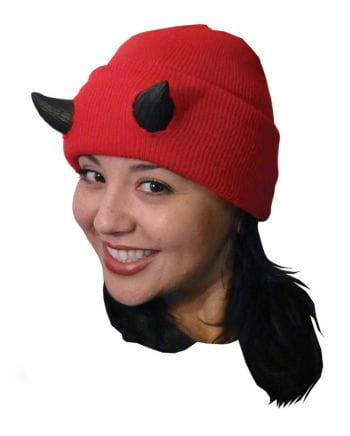 Halloween Beanie with devil horns