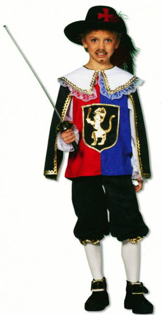 Musketeer Child Costume Deluxe