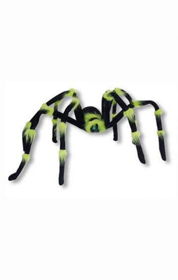 Neon Monster Spinne grün