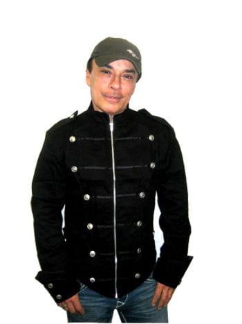 schwarze Uniformjacke Gr extra Large