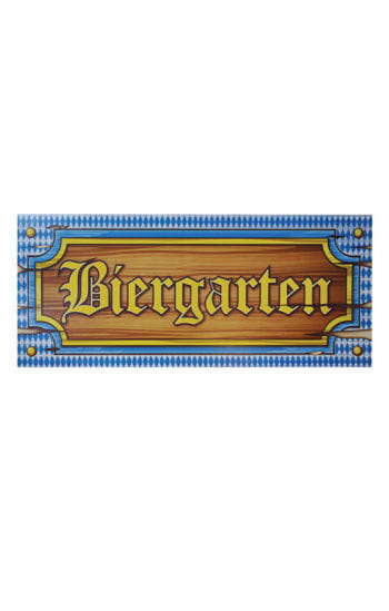Oktoberfest Biergarten- Banner