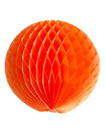 Wabenball orange 30 cm