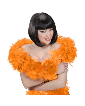 Feather boa deluxe orange