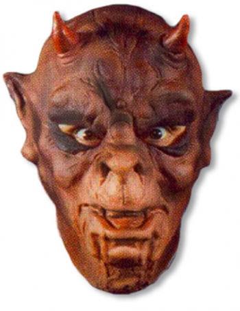 Ork Maske aus Schaumlatex