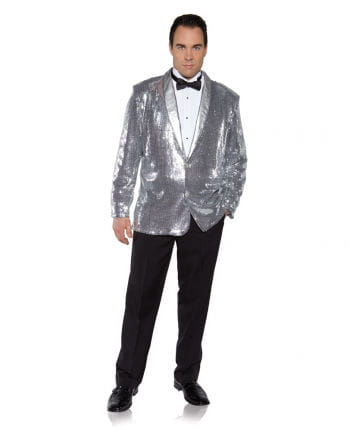 Sequin Jacket Silver