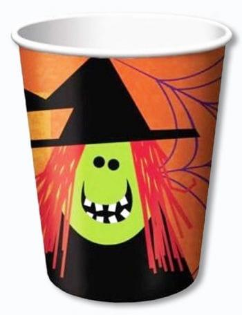 Paper Cups Spooky Friends