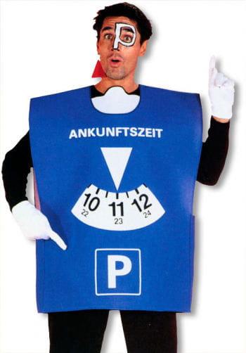 Parking Disc Costume