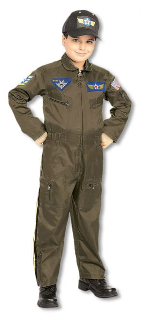 Pilot Child Costume M M