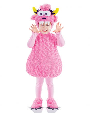 Pink Monster Kinderkostüm