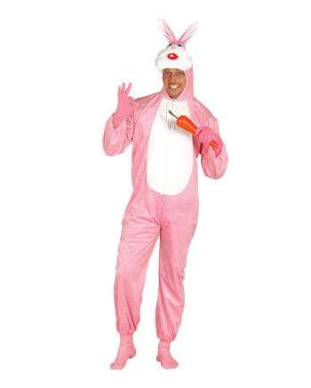 Pinkes Hasenkostüm