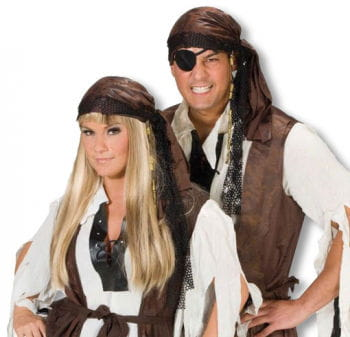 Pirate Bandana with Pearls