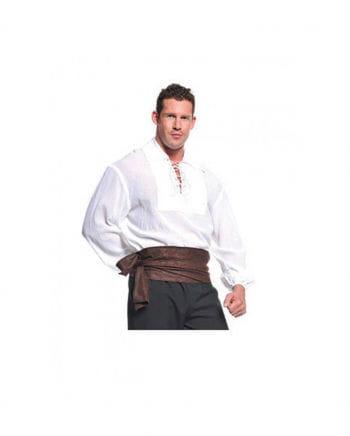 Piraten Kostüm Hemd weiß