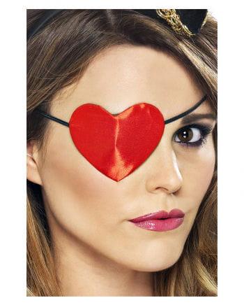 Pirate Eye Patch in heart shape