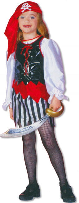 Pirate Girl Child Costume