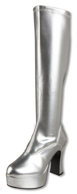 Plateau Stiefel silber 39 UK 8 US 10
