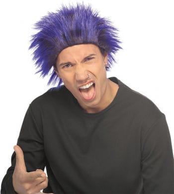 Punk Wig Blue/Black