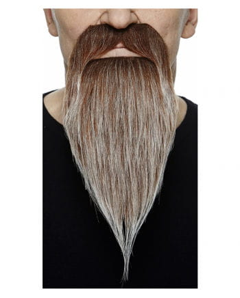 Raiders beard brown ash