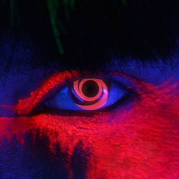 Red Spiral UV Kontaktlinsen