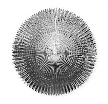 Foil Fan Silver 90 cm