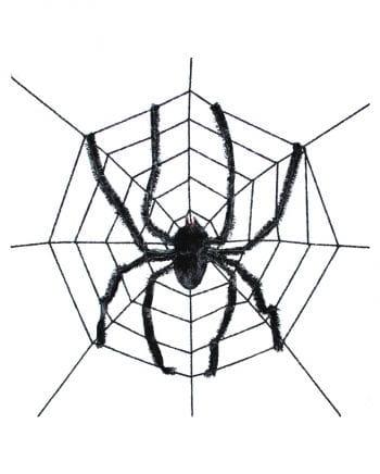 Riesenspinne im Netz
