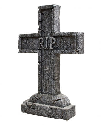 RIP grave stone cross Halloween Decoration