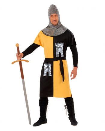 Knight Costume yellow / black Gr. L