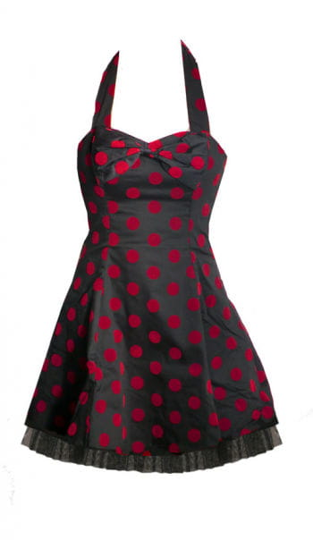 Polka Dot Petticoat black-red