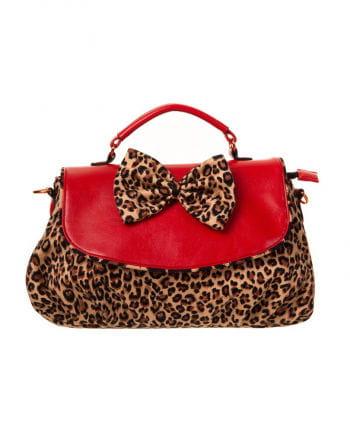 Rockabilly handbag Leopard