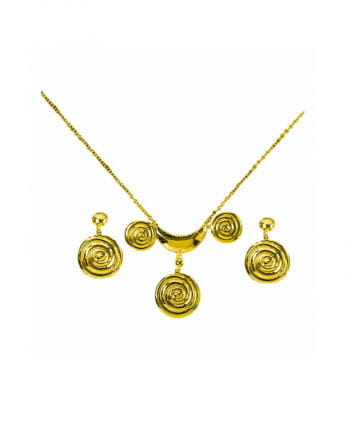 Römerin Halskette mit Ohrringen