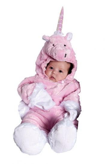Rosa Einhorn Baby Anzug