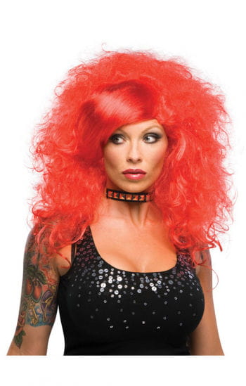 Red Emo Wig