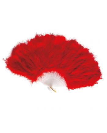 Roter Federfächer