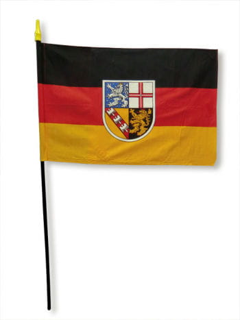 Stock flag state of Saarland
