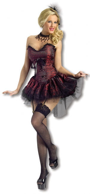 Saloon Lady Costume M/L 38-40