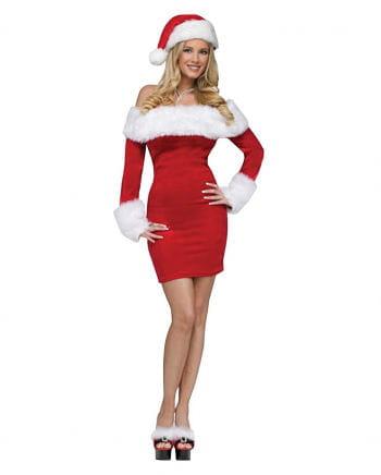 Santa Sweetie Nikolaus-Frauenkostüm