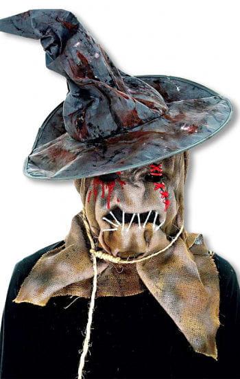 Scarecrow Maske mit Hut