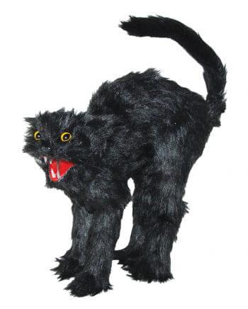 Halloween Figur schwarze Katze