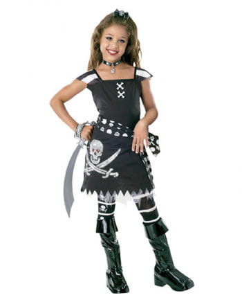 Scarlet Gothic Pirate Child Costume S