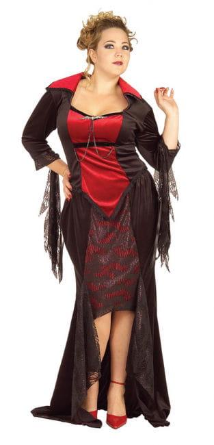 Scarlet Vampira Kostüm XL